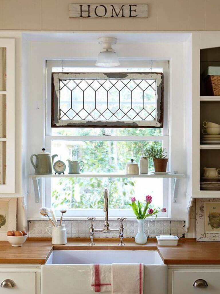 Build a Shelf in Front of Your Window