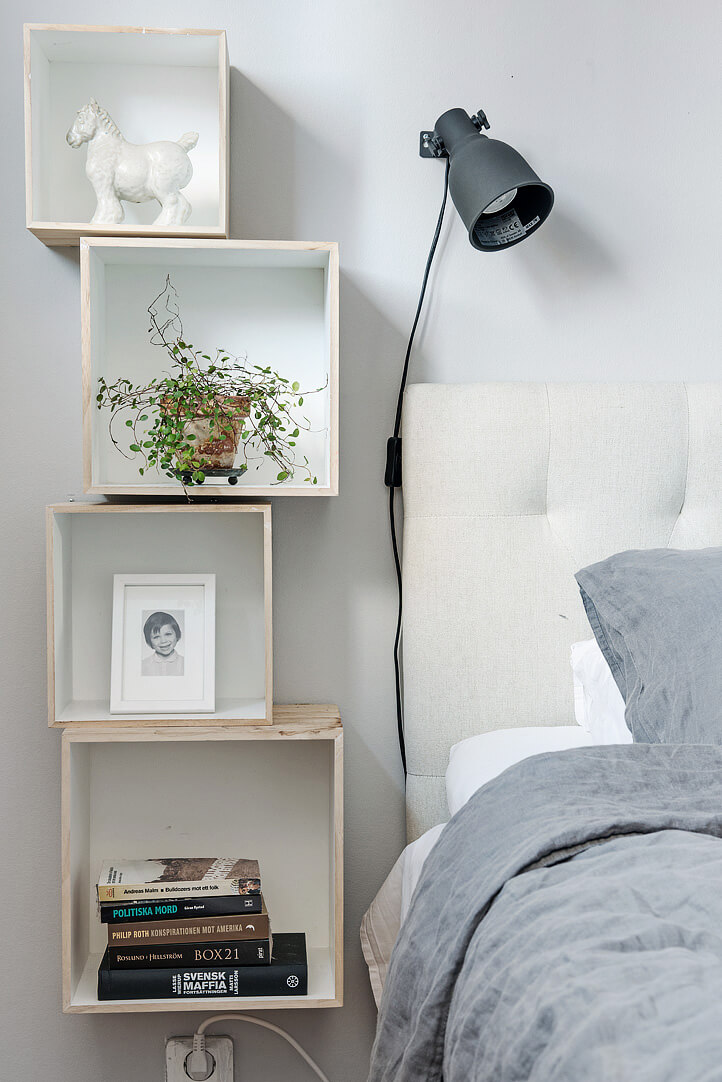 Window Box Shelves on the Wall
