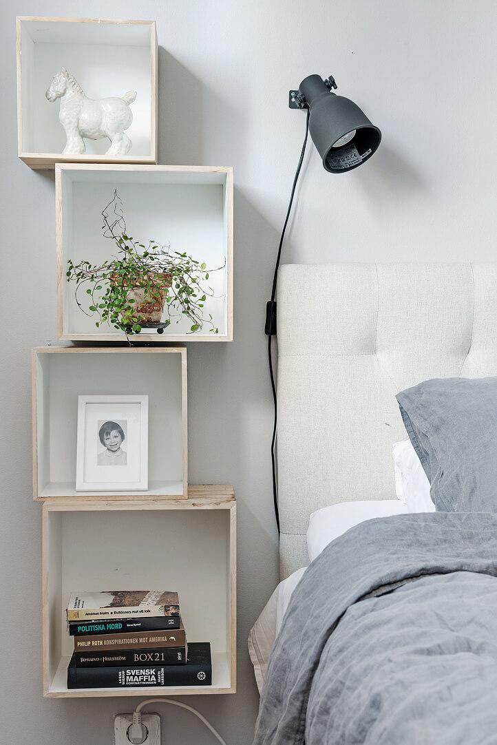 Window Box Shelves on the Wall