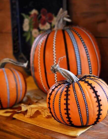 Decorative Trim Looks Good on Autumn Model