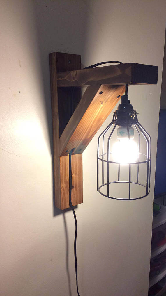 Simple Mission Style Industrial Lighting