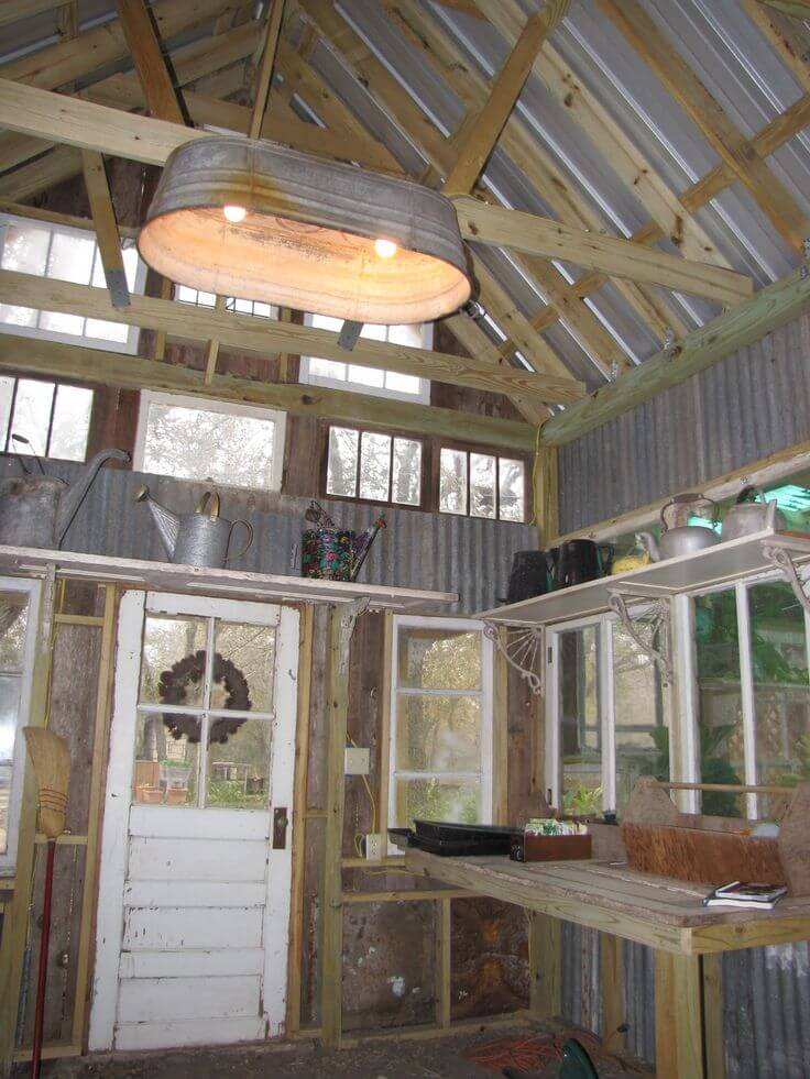 Rustic Light Fixture Perfect for Porches
