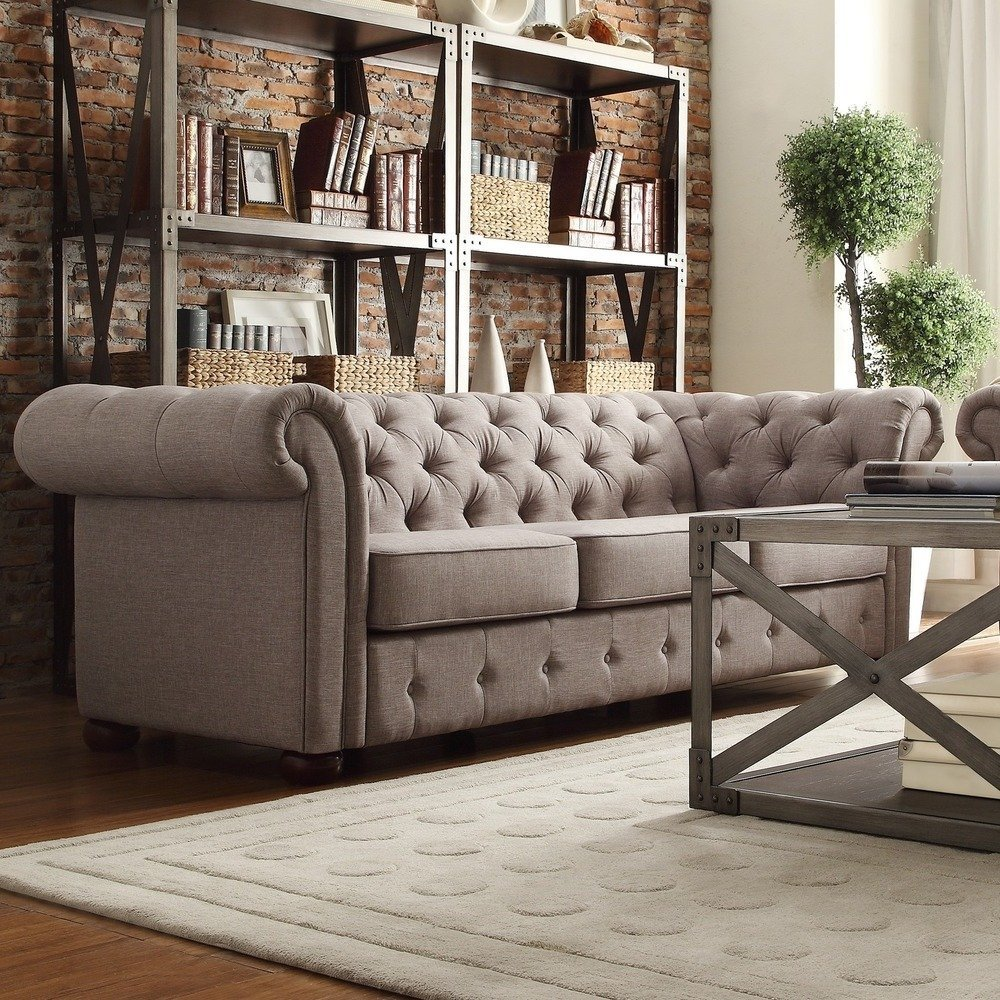 ModHaus Classic Chesterfield Style Sofa