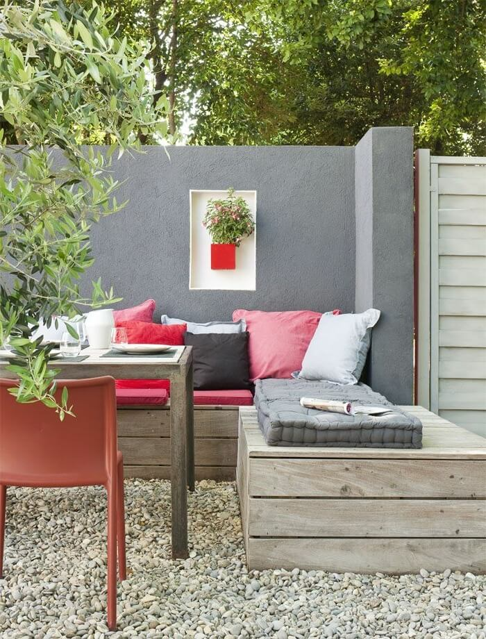 Modern and Understated Seating Area