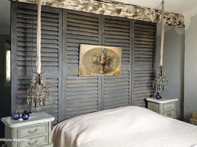 Old-world Style Headboard And Room Divider