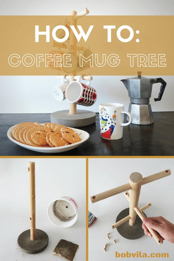 Super Easy DIY Mug Tree