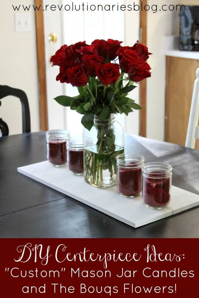 Match Your Flowers with Custom Candles