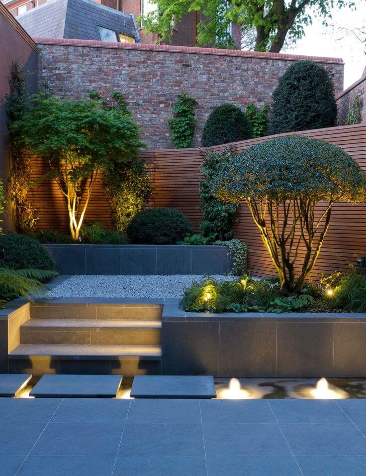Landscape Lighting Idea for Water