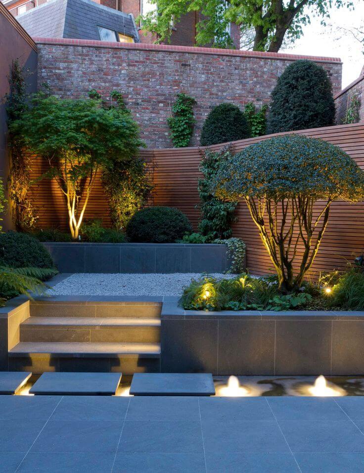 Landscape Lighting Idea for Water