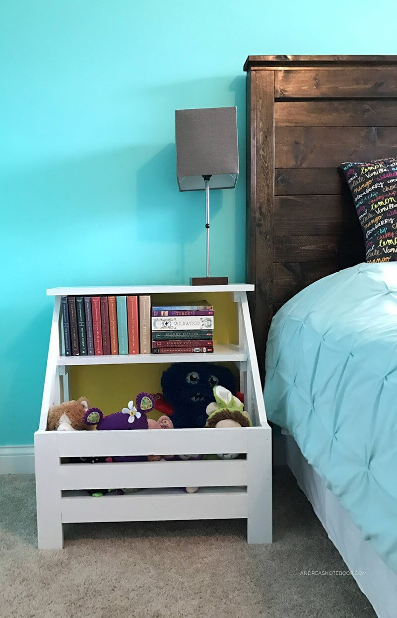 Child-friendly Nightstand for Collecting Critters