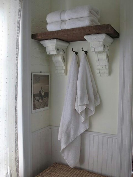 Reclaimed Cornice Shelving