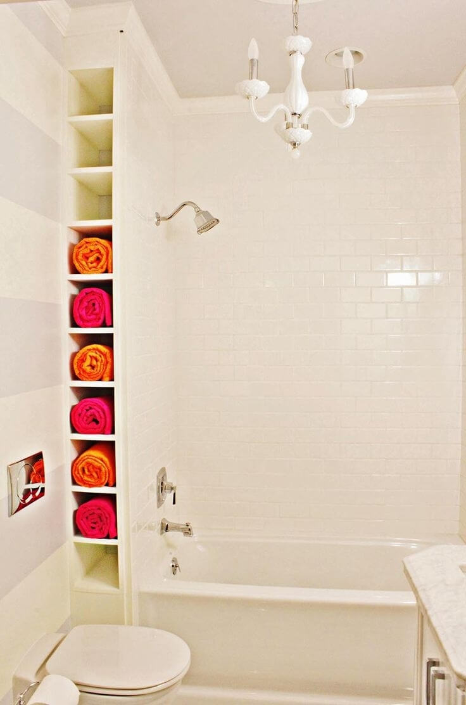 Tucked-Away Wall Unit Towel Unit