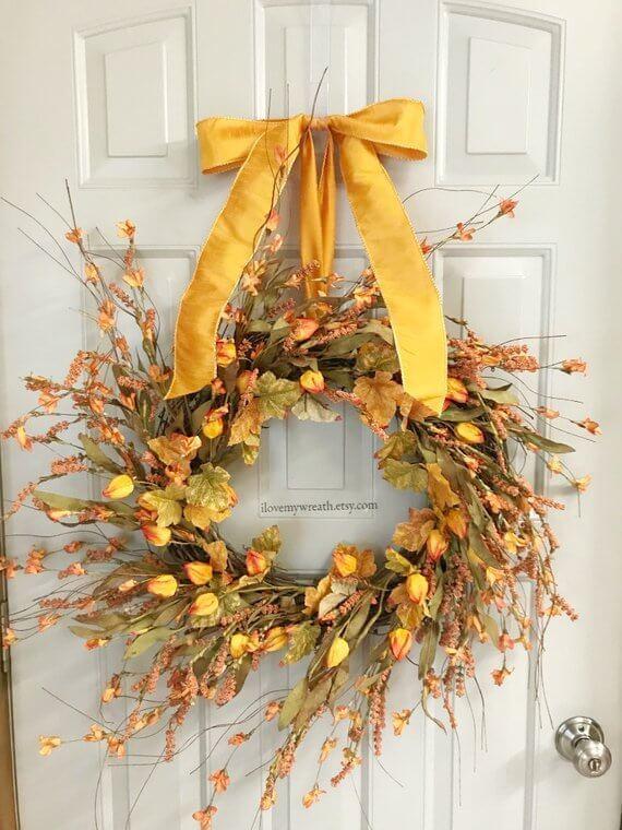 Bold Front Door Wreath