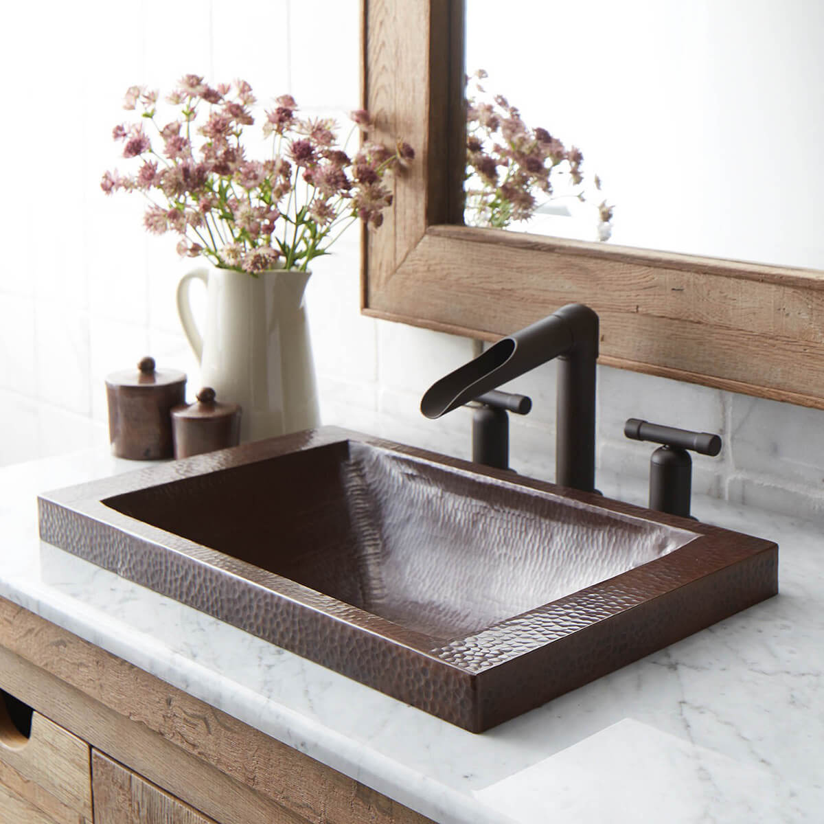 Standout and Unique Brass-Inspired Basin