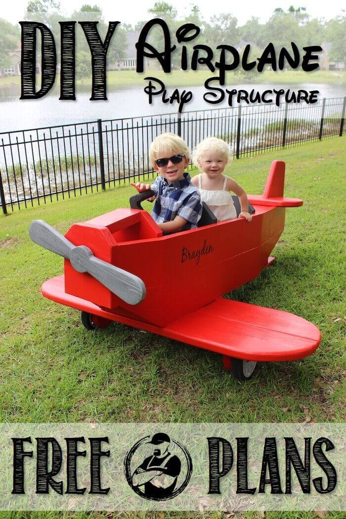 A Red Airplane for Your Little Pilot