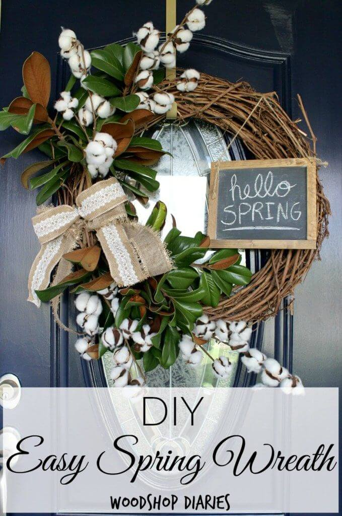 Chalkboard Fun with Bold Greenery