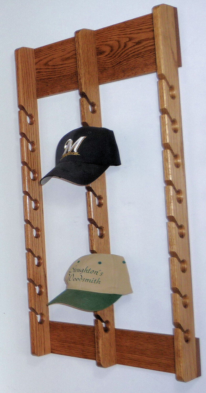 Solid Oak Hat Arranger for the Home