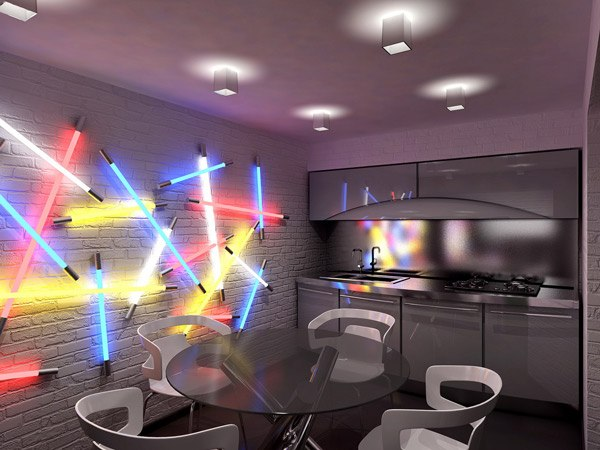Relive the 80s with a Geometric Room