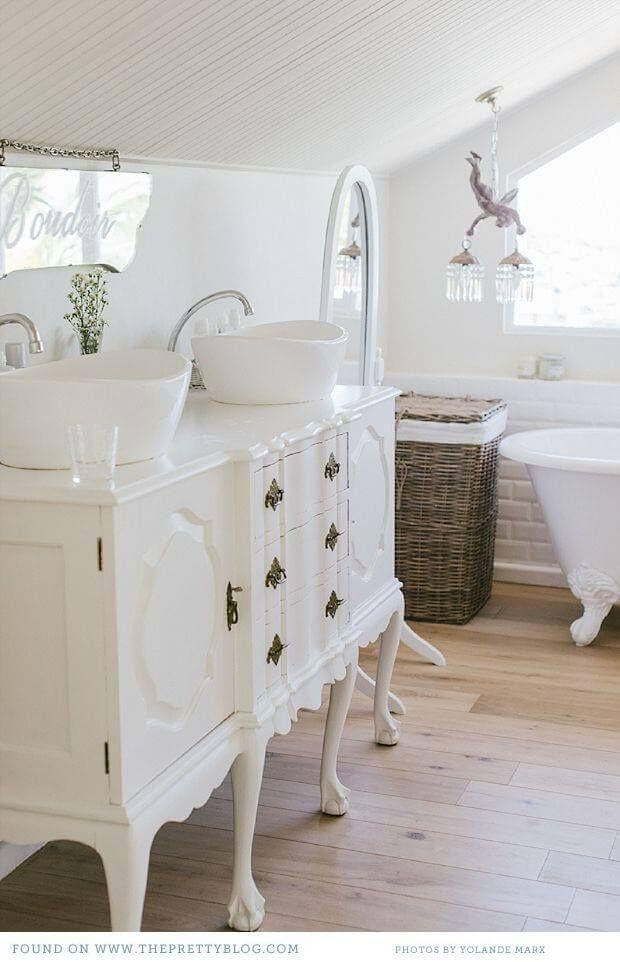 French Country Style Bathroom Vanity