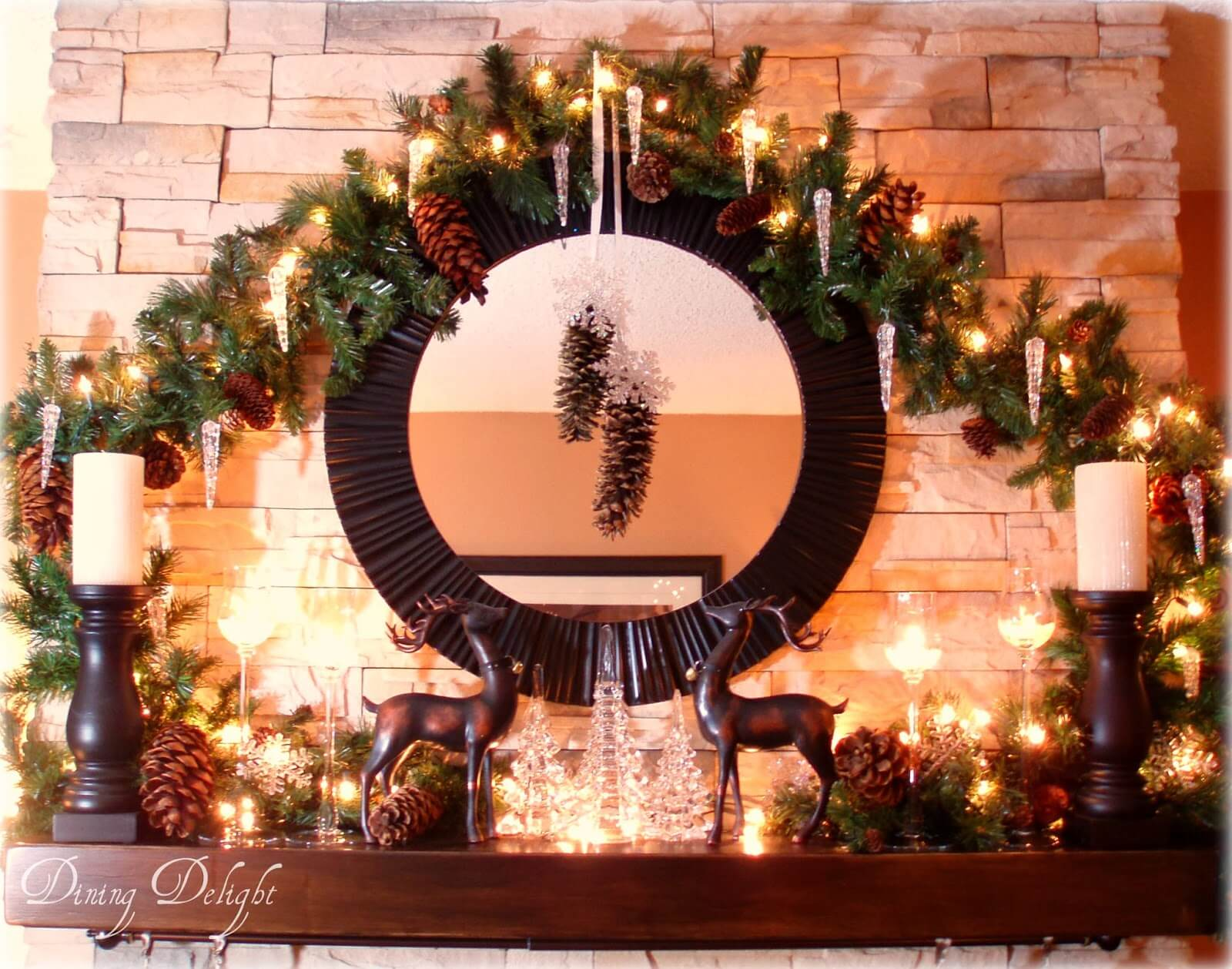 Transform Your Hearth with Pinecone Decor