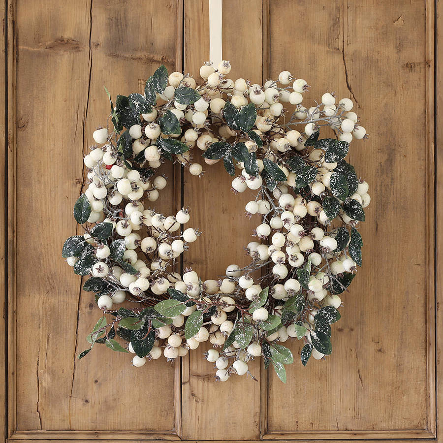 Natural, Rustic Christmas Wreath Ideas