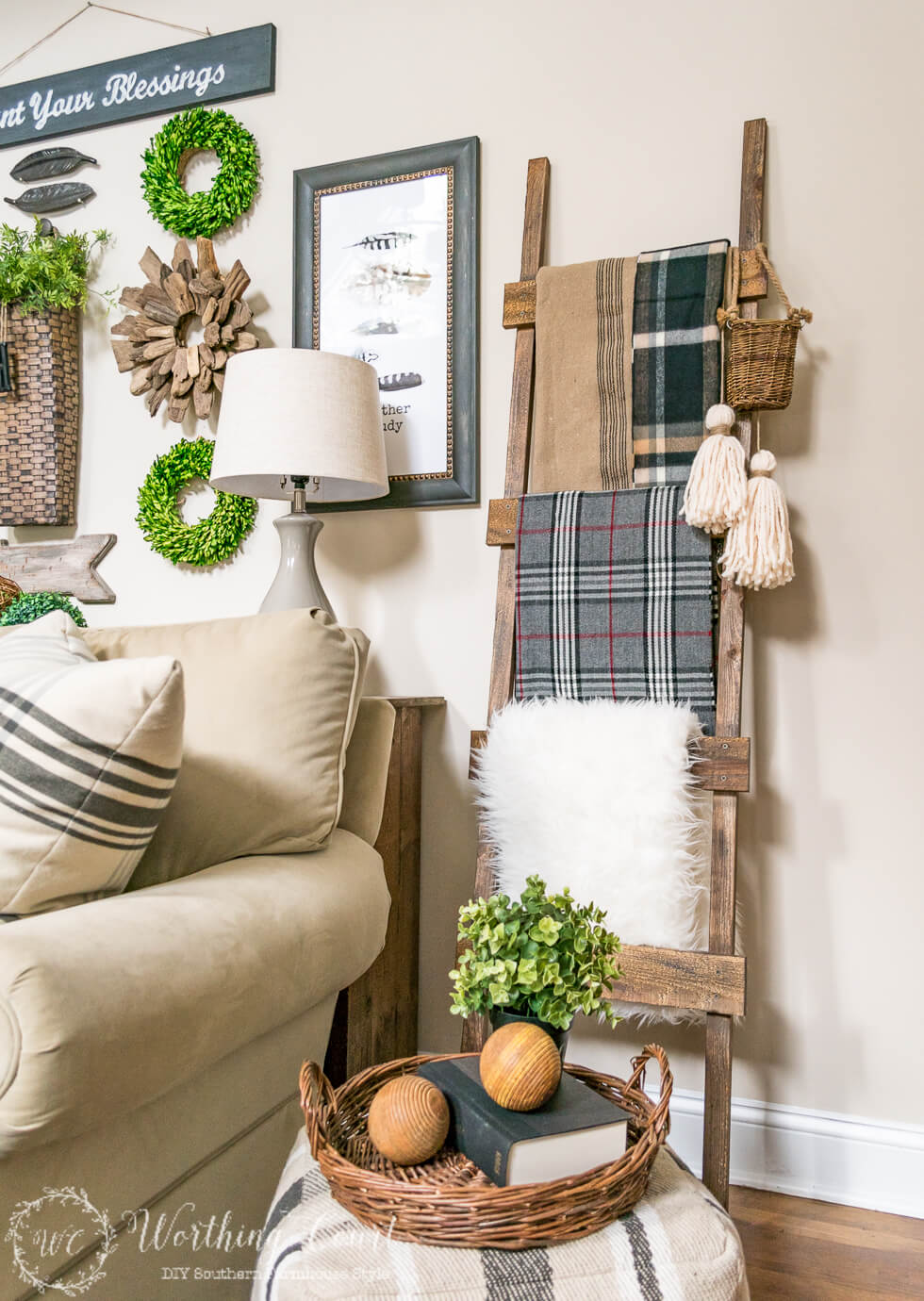 A Ladder for All Your Linens