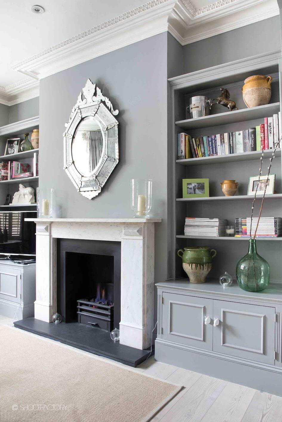 Grey, White and Silver Highlights