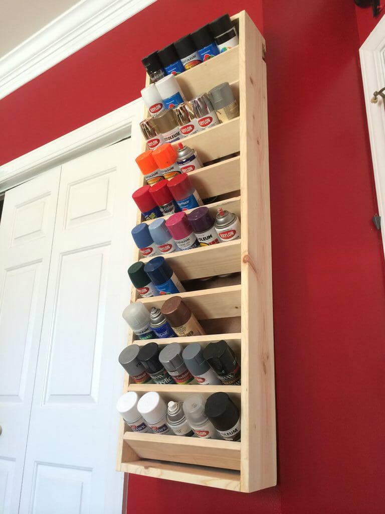 Rainbow Paint Display for Master Crafters