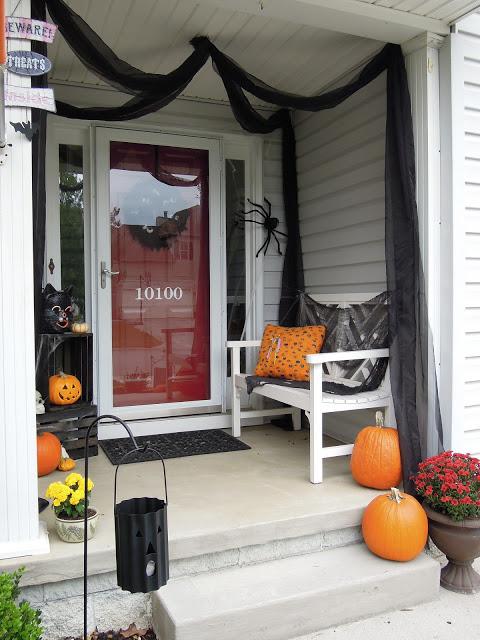 Haunted Halloween Porch