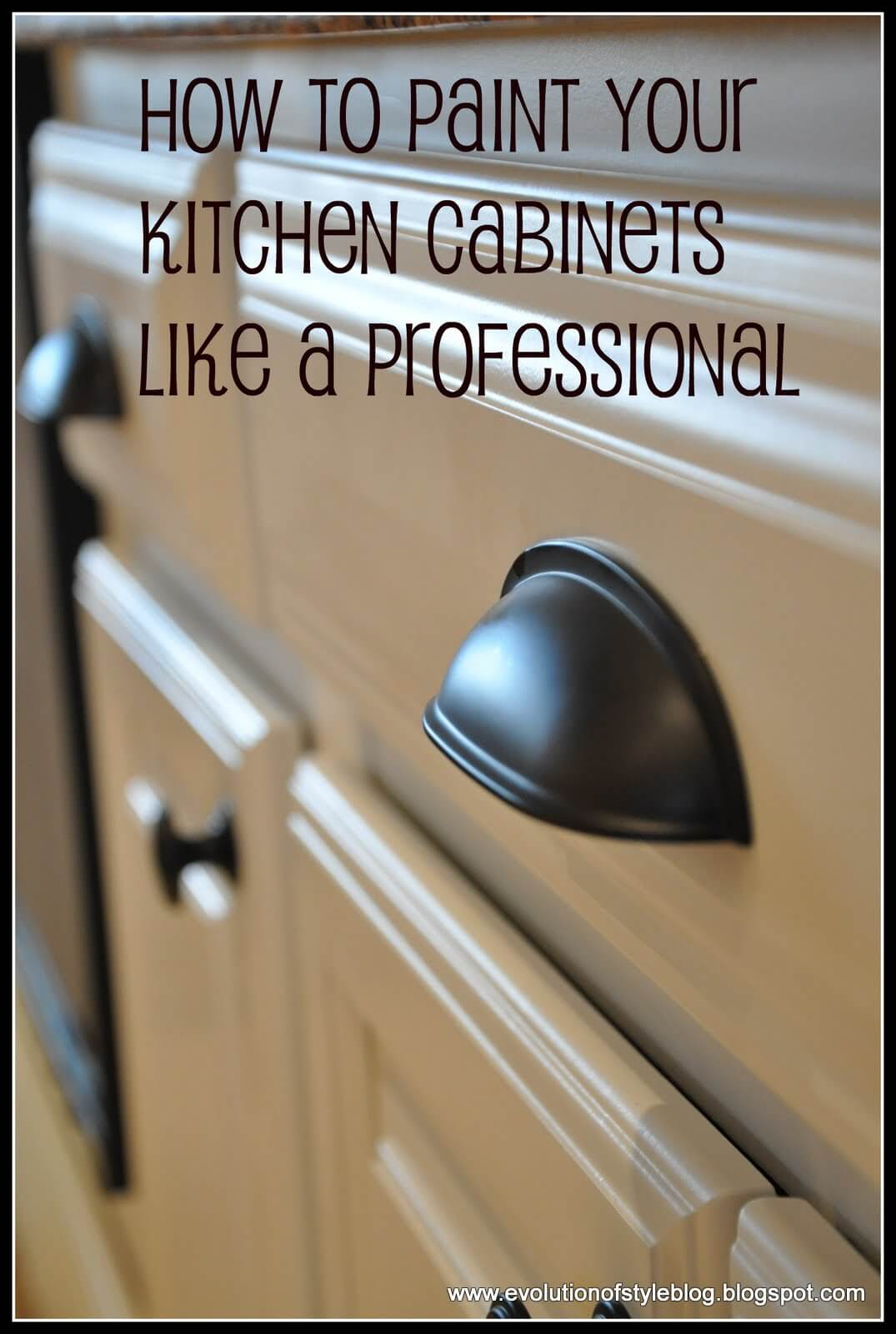 Paint Doors and Drawers like a Pro