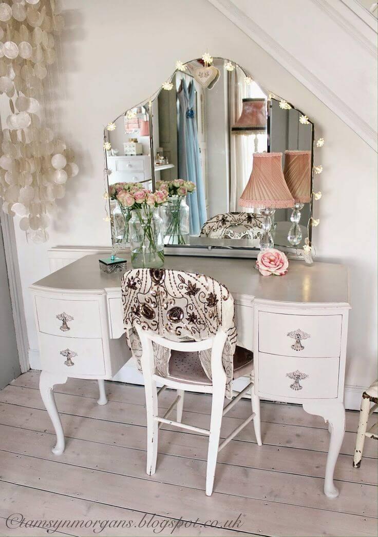 Deco Diva Refashioned Vintage Vanity