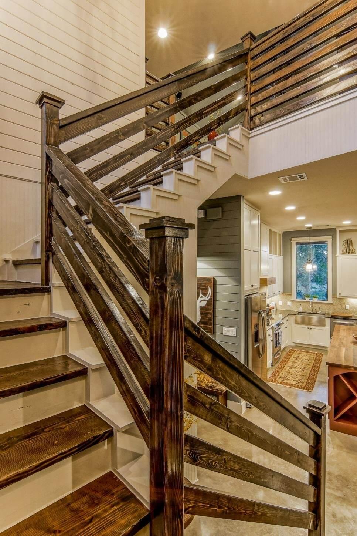Split Rail Fence Stairway Idea