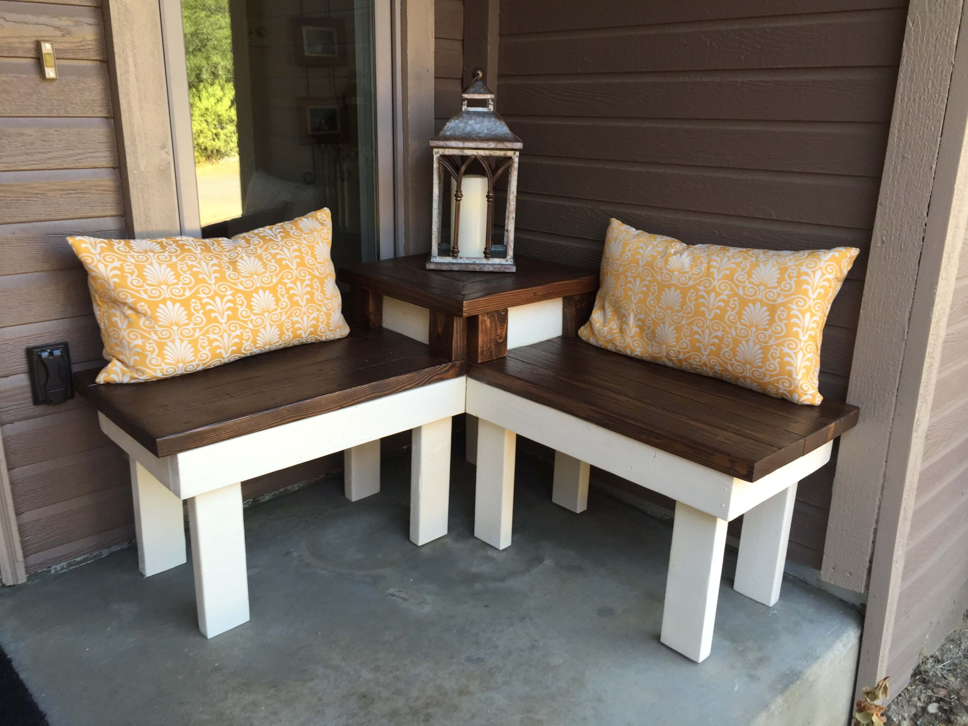 Newport Nuance DIY Corner Bench With Table