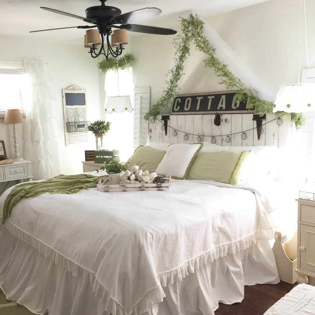 Secret Garden Style Bedroom