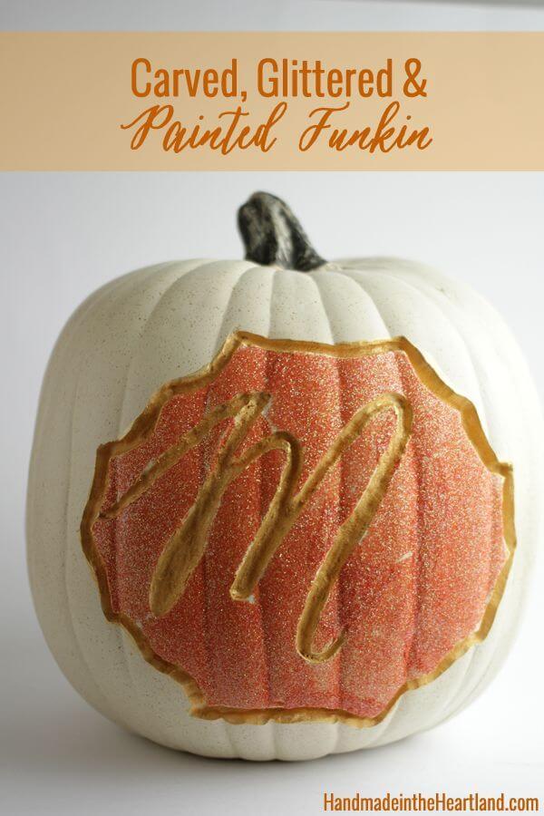 Engraved Pumpkin