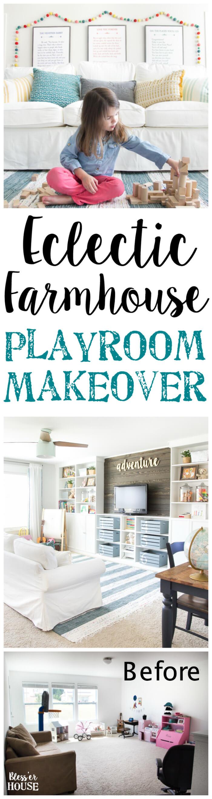 Give Aspiring Designers a Chic Playroom
