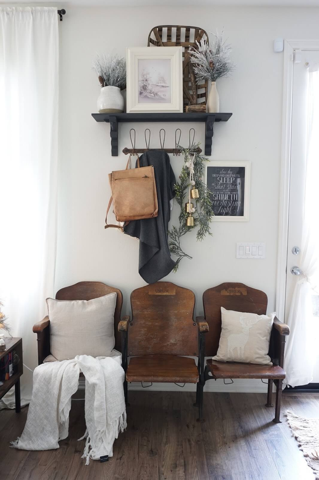 Add Drama with Vintage Theater Seating