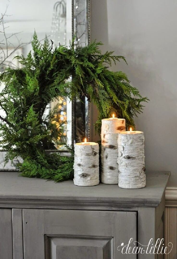 Rustic Winter Decor that Endures after Christmas