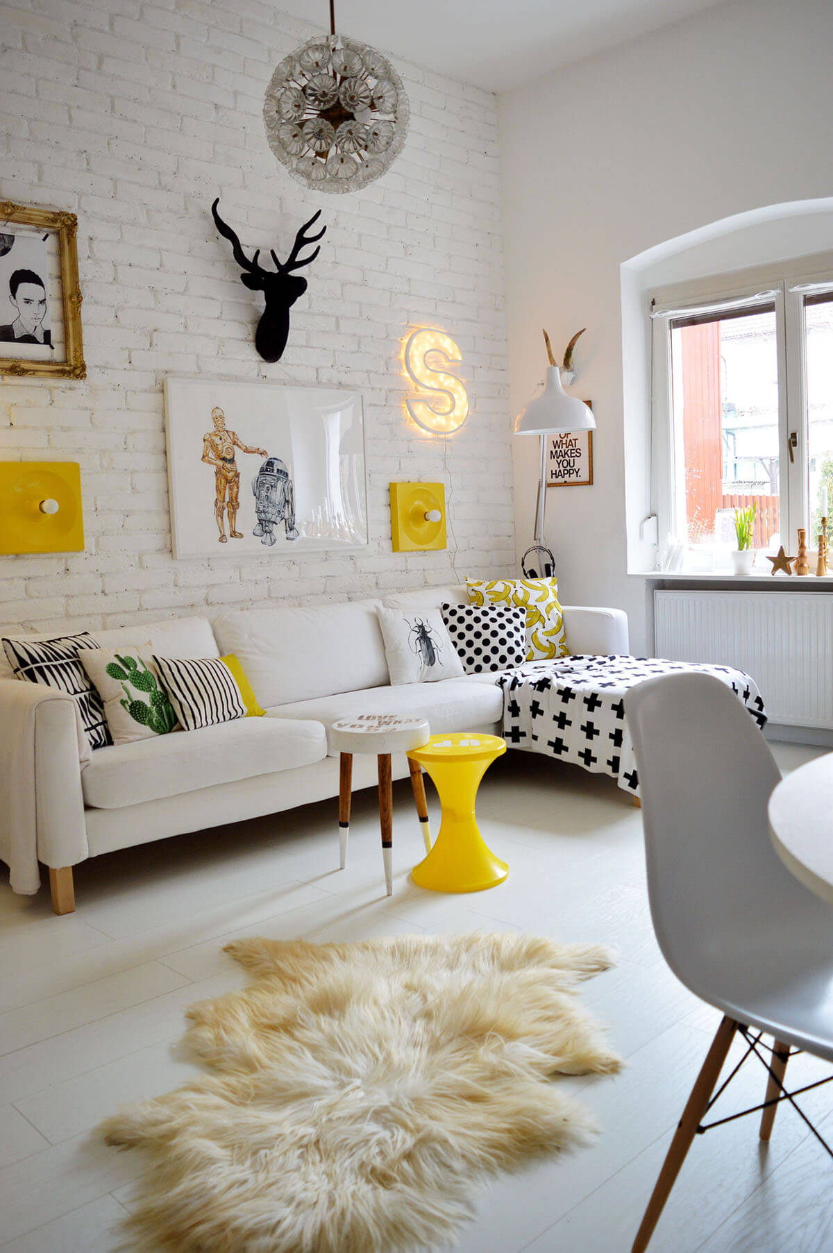 Fun and Friendly Living Room