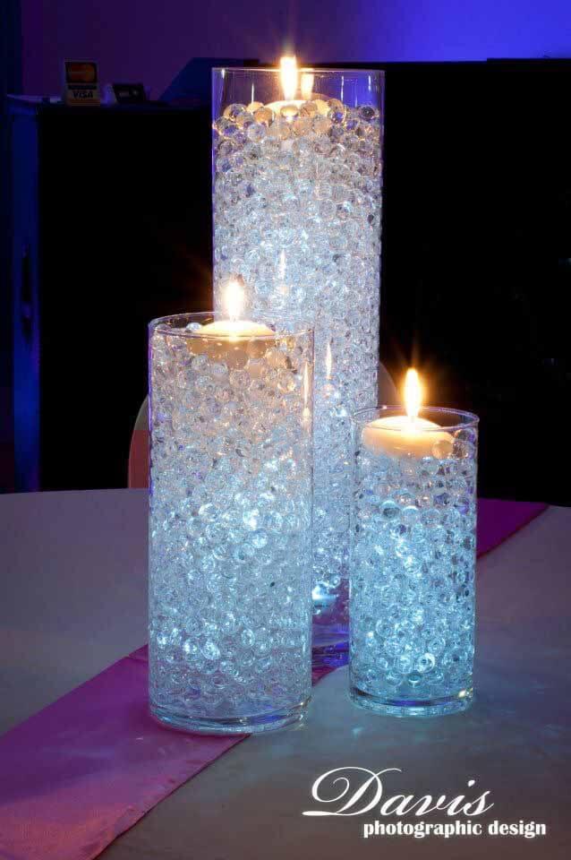 Easy Elegant Marble Pillars Candles