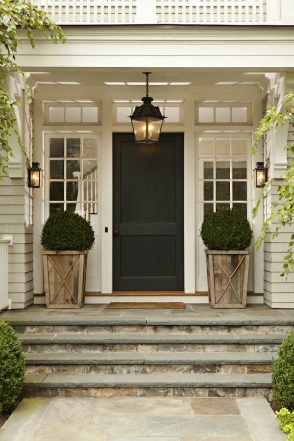 Southern Country Home Styled Front Door