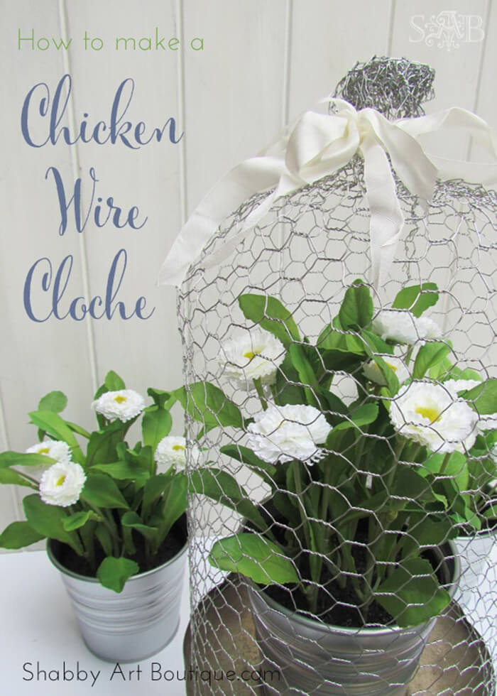 Decorative Kitchen Wire DIY Project and Craft Idea