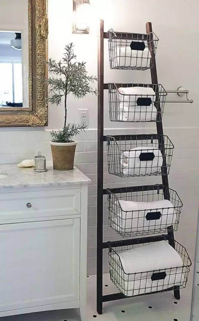 Vintage Office Multi-Size Basket Stand