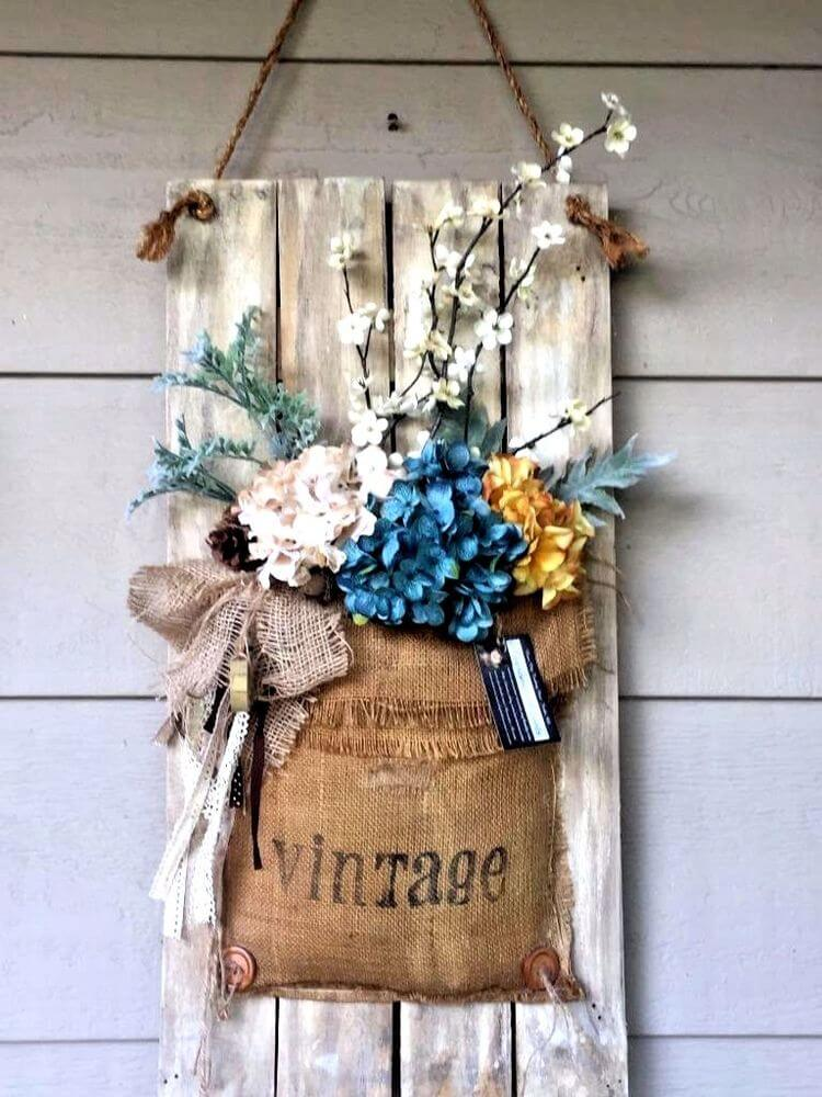 Hanging Vintage Porch Decor Ideas