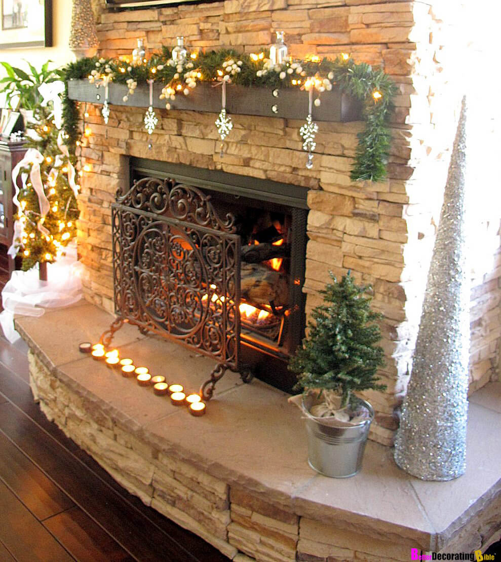 Add Visual Interest With Dangling Ornaments