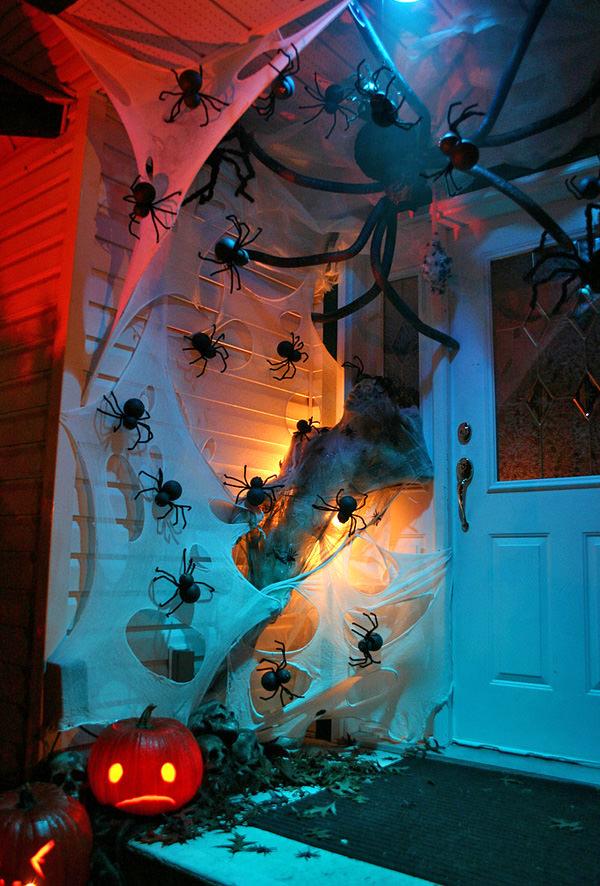 Halloween Spider Door