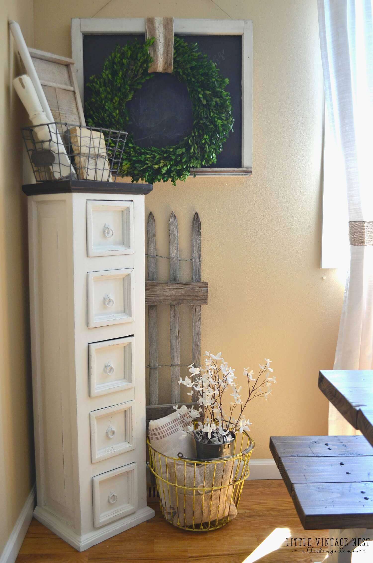 Repurpose a Cabinet, Transform a Corne