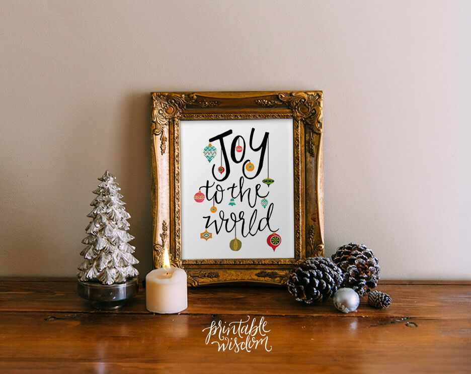 Instantly Printable Wall Art