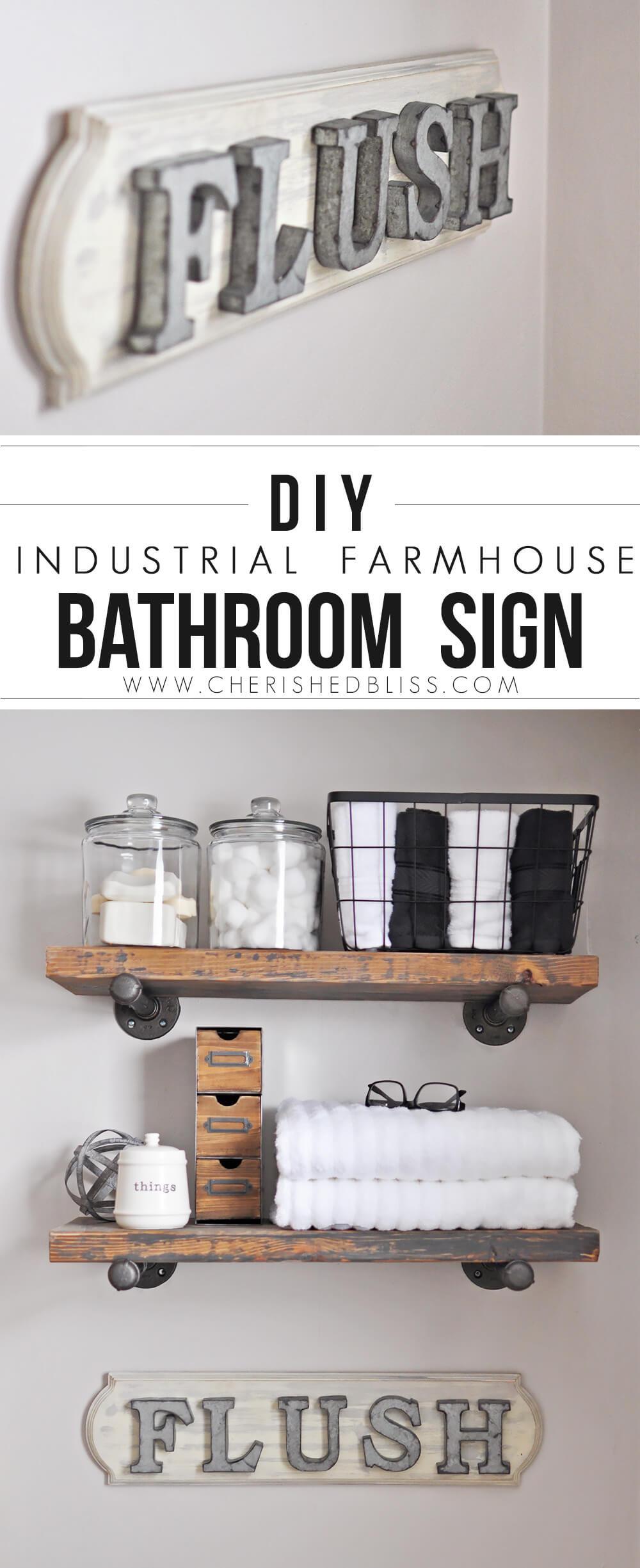 Farmhouse Wall Decor Ideas for Bathrooms
