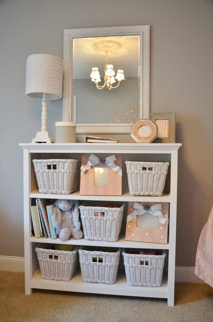 Baskets Do Double Duty for Style and Storage